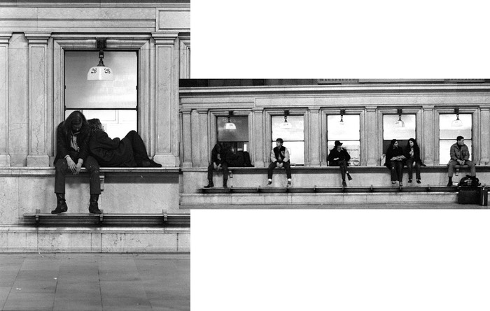 Grand Central Ticket Window Tableau