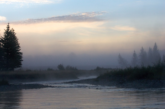 Sunrise on the Snake River